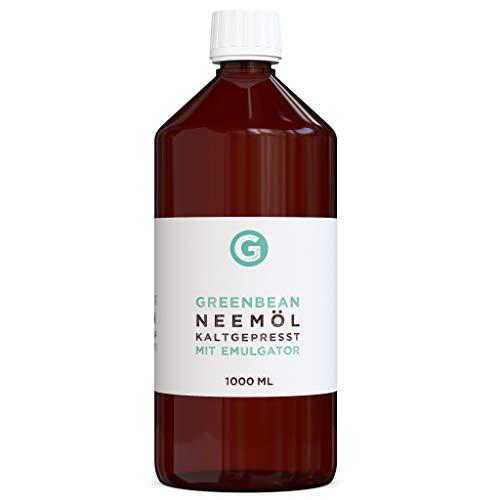greenmade Neemöl (Niemöl) mit Emulgator 1000ml gemischt und gebrauchsfertig