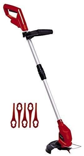 Einhell Akku Rasentrimmer GC-CT 18/24 Li - Solo Power X-Change (Li-Ion, verstellbarer Teleskop-Führungsholm und Zusatzhandgriff, Flowerguard, inkl. 20 Kunststoffmesser, ohne Akku und Ladegerät)