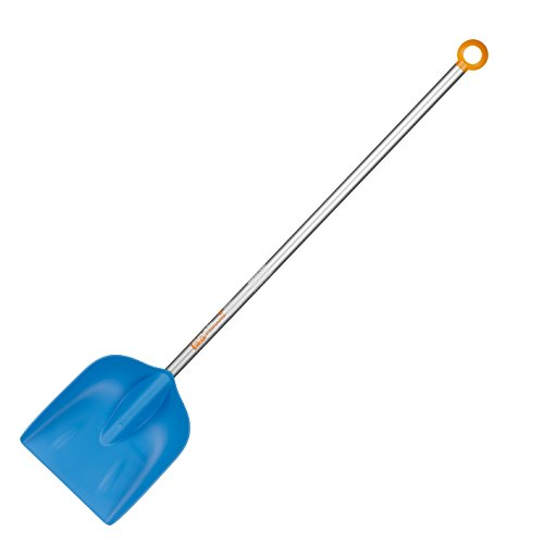 Fiskars Kinder-Schaufel, Länge: 88 cm, Kunststoff-Blatt/Aluminium-Stiel, Blau/Orange, MyFirst Fiskars, 1001421