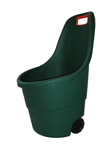 Keter 17182462 Gartenkarre Marisa grün, Fassugnsvermögen: 55 l