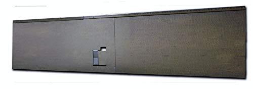 HN Kernstützen Metallwaren Rasenkante, Beeteinfassung und Wegbegrenzung aus Metall 13,5 cm x 1,20 m; 3,45 m; 5,70 m; 11,40 m; 22,75 m; 29,60 m, Farbe :verzinkt, Verlegelänge :10er Set 11.40 m