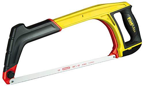 Stanley FatMax 5-in-1 Multifunktionssäge 430mm 0-20-108 – Bügelsäge für Metall, Handsäge & Kurzsäge mit 45° Anschlag – Einfacher werkzeugloser Sägeblattwechsel