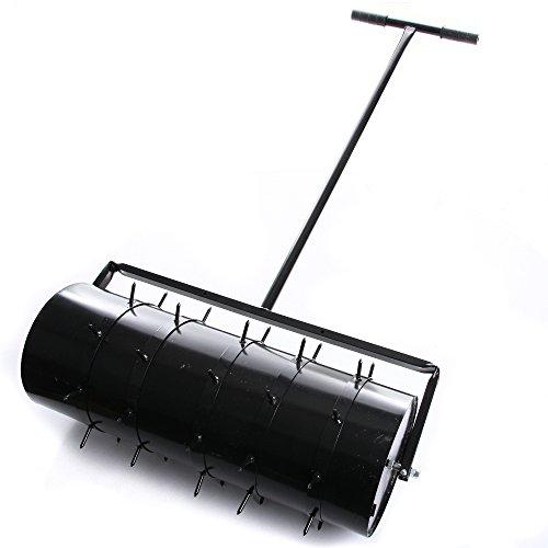 rg-vertrieb Rasenwalze 80cm Handwalze Gartenwalze Aerator Rasenroller Rasenlüfter Walze