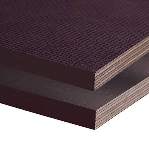 Siebdruckplatte 30mm Zuschnitt Multiplex Birke Holz Bodenplatte (30x30 cm)