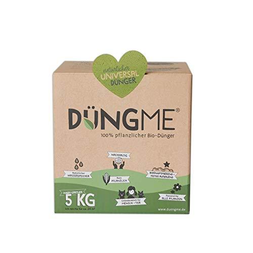 DÜNGME Bio Universaldünger mit Langzeitwirkung, 100% pflanzlich & Bio, Pflanzendünger, für kräftiges Pflanzenwachstum, unbedenklich für Kinder & Haustiere, Naturdünger für gesunde Böden, 5kg