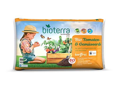 DHG BIOTERRA Bio Tomaten- & Gemüseerde Torffrei 40l