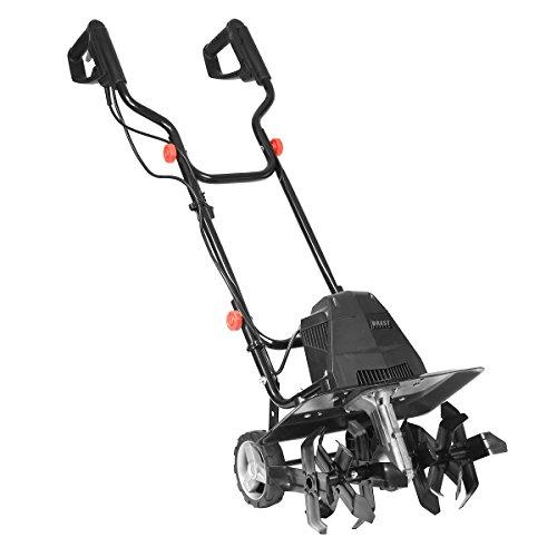 BRAST elektrische Motorhacke 1500 Watt 45cm Arbeitsbreite 24 Hackmesser Ackerfräse Kultivator Gartenfräse Elektro Hacke