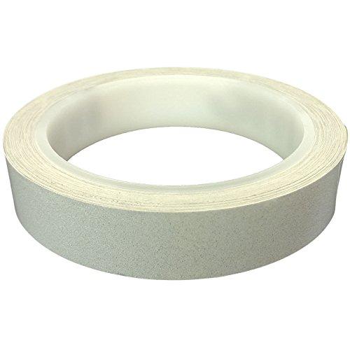 DonDo 3M 610C Reflektierendes Klebeband Reflexfolie Konturmarkierung Silber 20mm x 10m