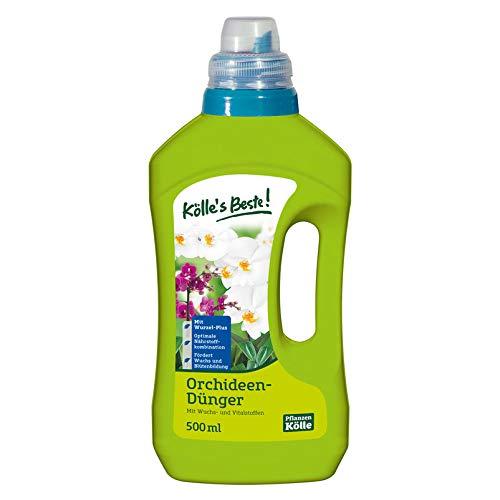Kölle's Beste! Orchideen-Dünger 500 ml, Flüssigdünger für Orchideen, Düngemittel, Düngung, Orchideen-Dünger