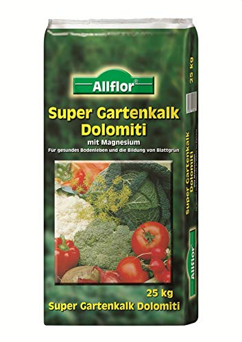 Allflor Super Gartenkalk Dolomiti 25 kg Rasenkalk
