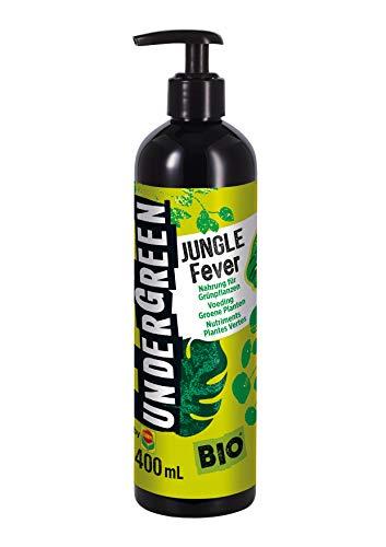 Undergreen by Compo Jungle Fever, Nahrung für alle Grünpflanzen im Zimmer oder auf dem Balkon, Bio-Flüssigdünger, 400 ml