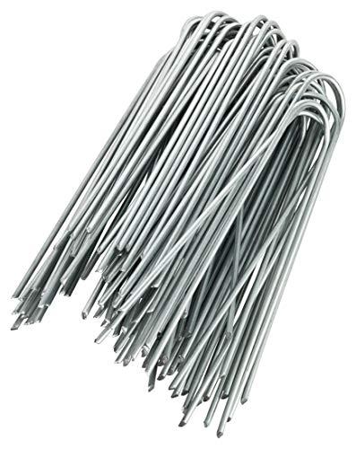 GardenMate 250 Erdanker VERZINKT aus Stahldraht 150mm lang - 25mm breit aus Stahldraht Stärke 2,9mm