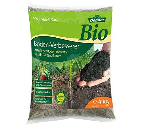Dehner Bio Bodenverbesserer für alle Gartenpflanzen, 4 kg, für ca. 20 qm