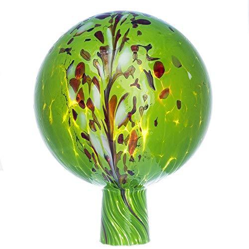 Marolin Rosenkugel für den Garten/Gartenkugel (15cm Durchmesser | grün)