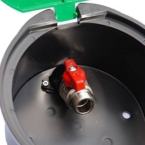 Rain Bird Runder Ventilkasten VBA 17186 mit Kugelhahn (Ventilbox, Verteilerbox, Verteilerkasten)
