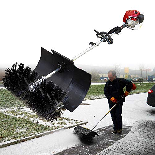 Kehrmaschine Benzin Schneeschieber Schneefräse Handkehrmaschine 52CC