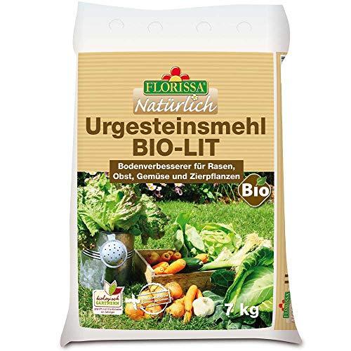 Florissa Natürlich 58878 Urgesteinsmehl BIO-LIT | fördert die Bodenfruchtbarkeit wie Nilschlamm |DIABAS-Gestein aus dem österreichischen Tirol, Beige