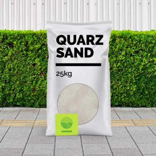 Quarzsand - Fugensand weiß, sehr feine Körnung, bestens geeignet zum Einkehren von Pflasterfugen, hemmend gegen Unkraut, 1 kg - 5000 kg, kostenlose Lieferung (25)