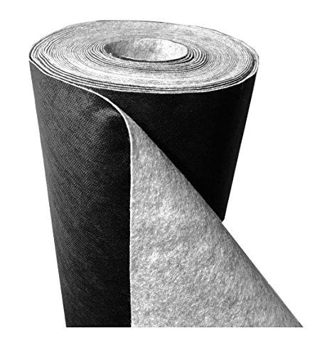 """DeRiTex 180 g/m² - Unkrautvlies bzw. Unkrautschutzvlies """"Premium Plus"""" (L) 25 m x (B) 1,0 m"""