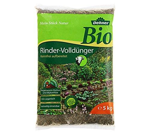 Dehner Bio Rindervolldünger, 5 kg, für ca. 30 qm