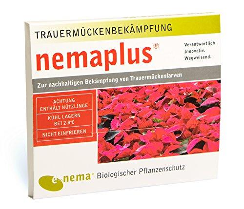 nemaplus SF Nematoden zur Bekämpfung von Trauermücken - 10 Mio. für 20m² Blumenerde oder 100 Pflanzen