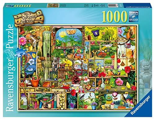 Ravensburger Puzzle 19482 - Grandioses Gartenregal - 1000 Teile Puzzle für Erwachsene und Kinder ab 14 Jahren, Motiv von Colin Thompson